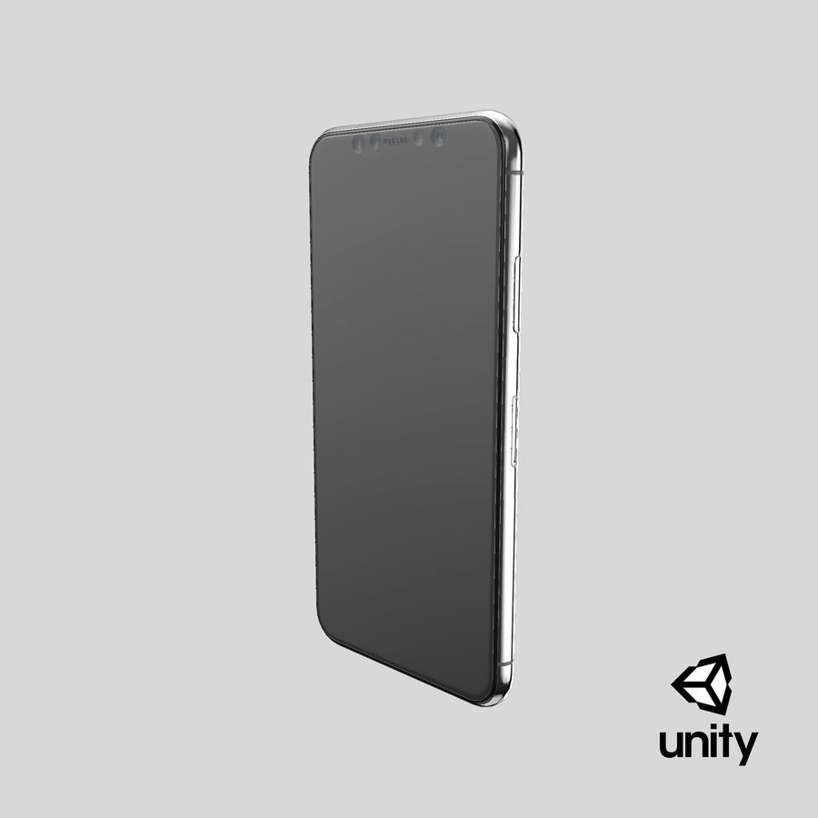 Smartphone model royalty-free 3d model - Preview no. 27