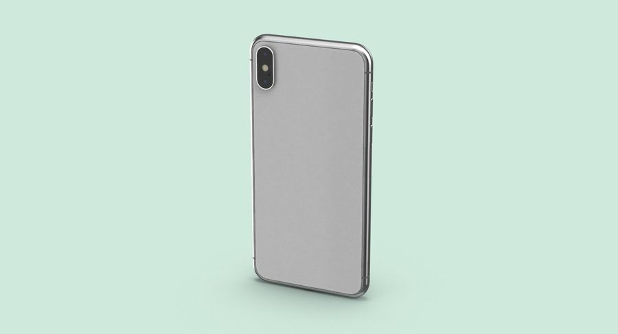 Smartphone model royalty-free 3d model - Preview no. 6