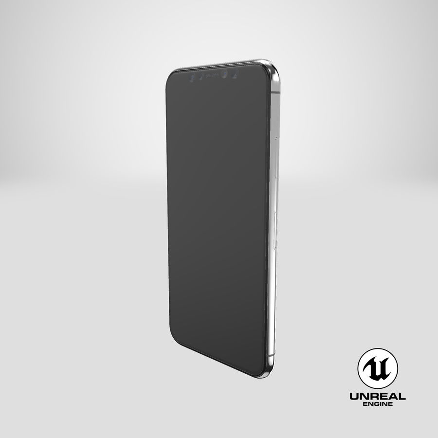 Smartphone model royalty-free 3d model - Preview no. 26