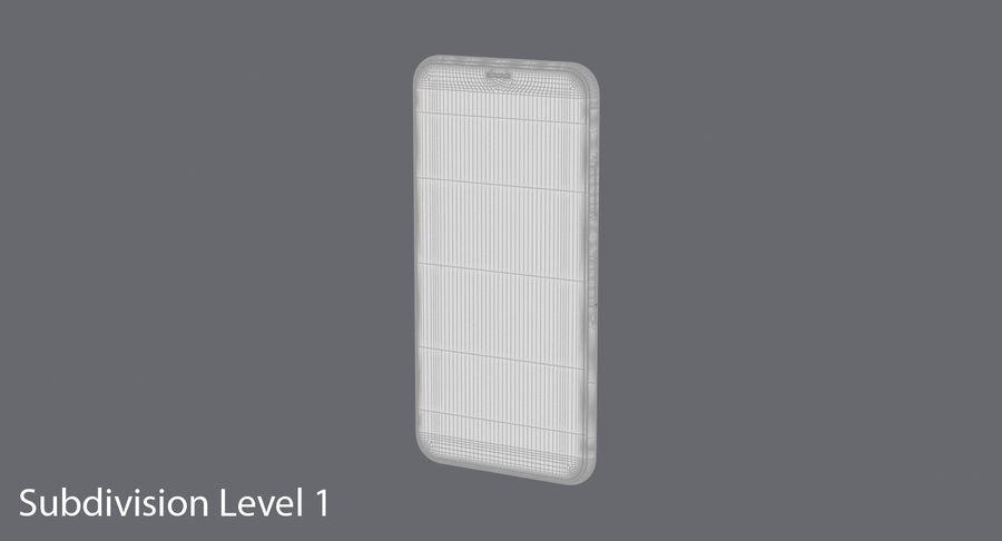 Smartphone model royalty-free 3d model - Preview no. 17