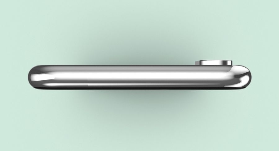 Smartphone model royalty-free 3d model - Preview no. 5