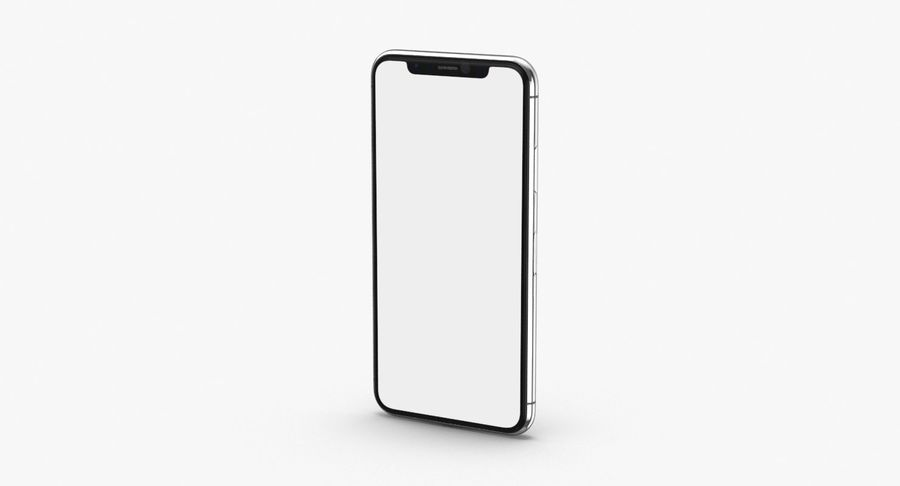 Smartphone model royalty-free 3d model - Preview no. 2