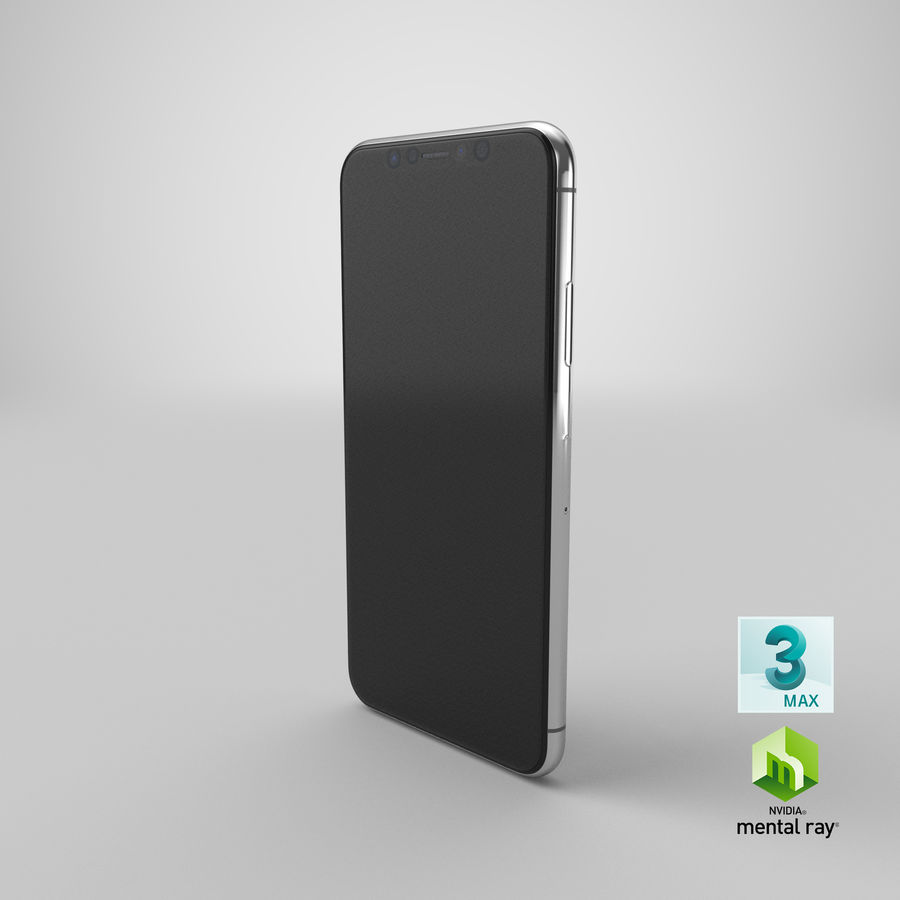 Smartphone model royalty-free 3d model - Preview no. 24