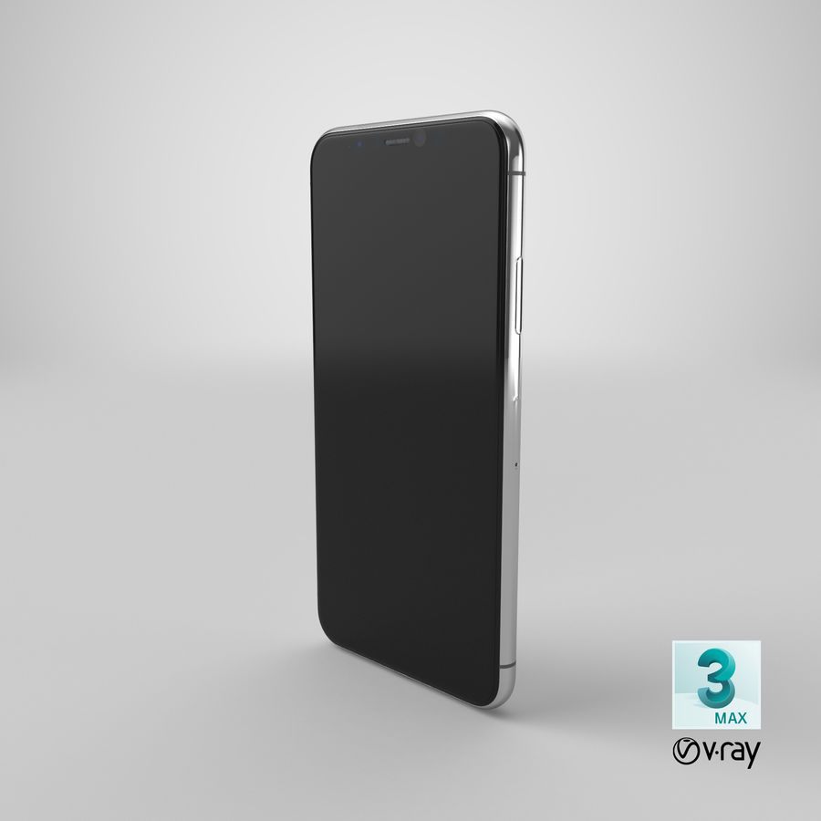 Smartphone model royalty-free 3d model - Preview no. 23