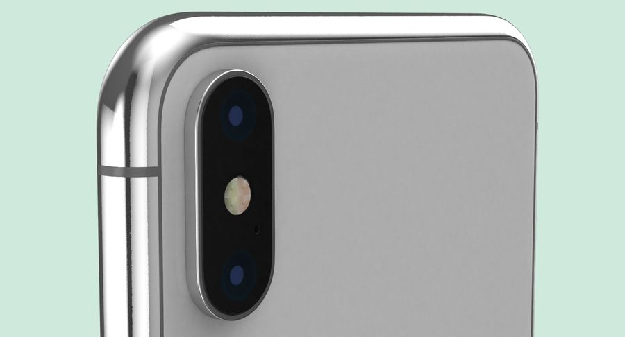 Smartphone model royalty-free 3d model - Preview no. 11