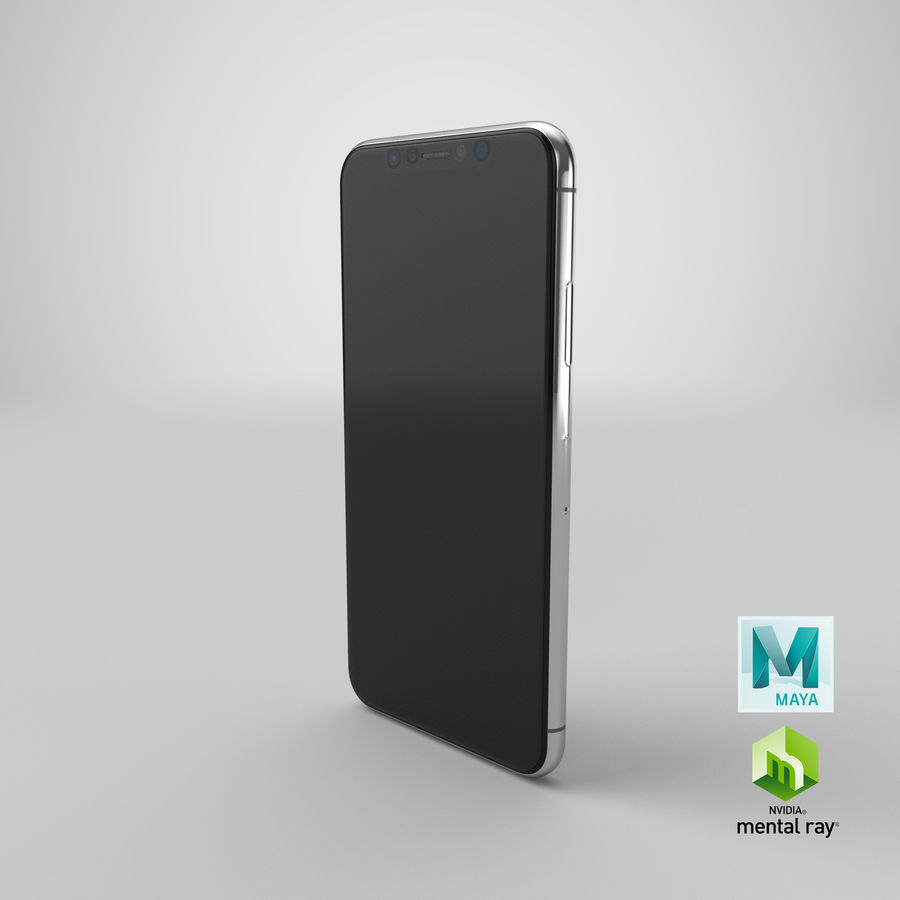 Smartphone model royalty-free 3d model - Preview no. 22