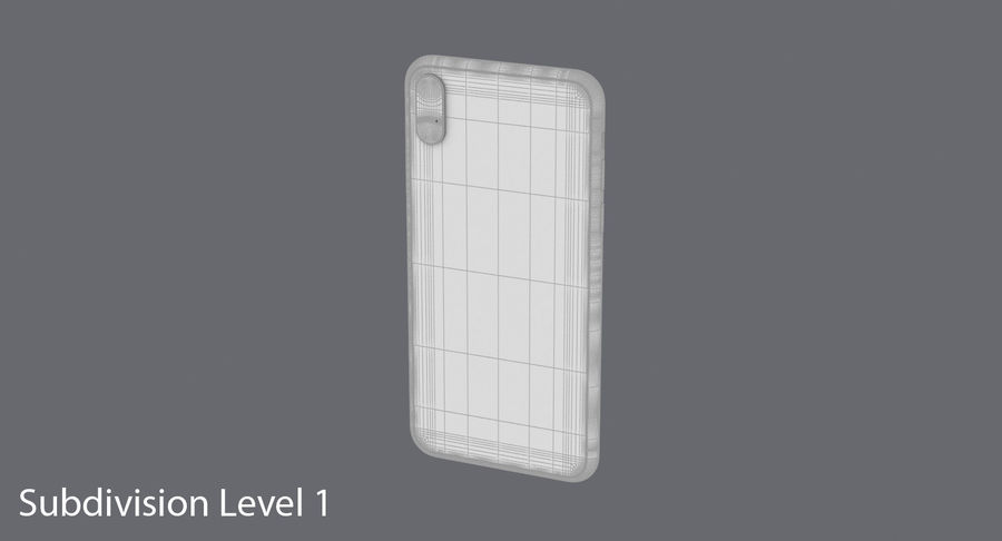 Smartphone model royalty-free 3d model - Preview no. 19