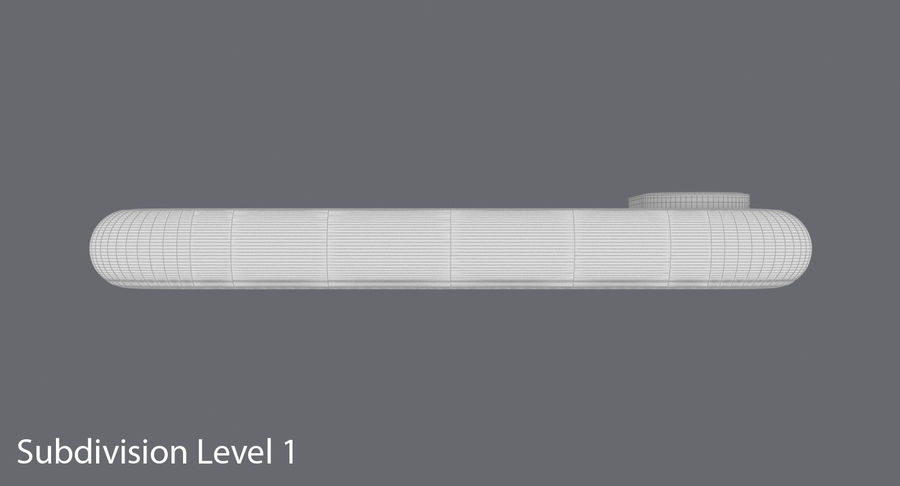 Smartphone model royalty-free 3d model - Preview no. 18