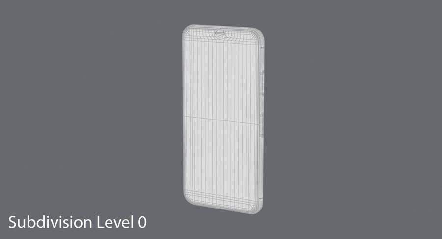 Smartphone model royalty-free 3d model - Preview no. 14