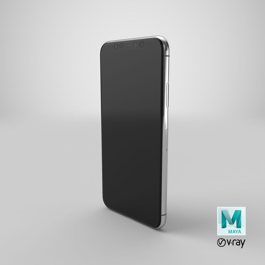 Smartphone model royalty-free 3d model - Preview no. 21
