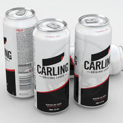 Piwo Carling Lager 500 ml 3d model
