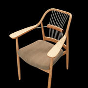 YAMANAMI Rope Chair 3d model