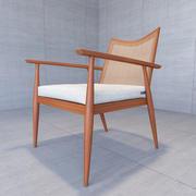 폴 맥 코브 라운지 의자 3d model