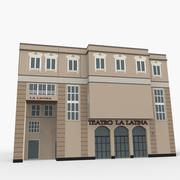 Ла Латина Театр 3d model