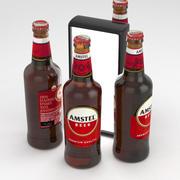 Botella De Cerveza Amstel Cerveza 500ml modelo 3d