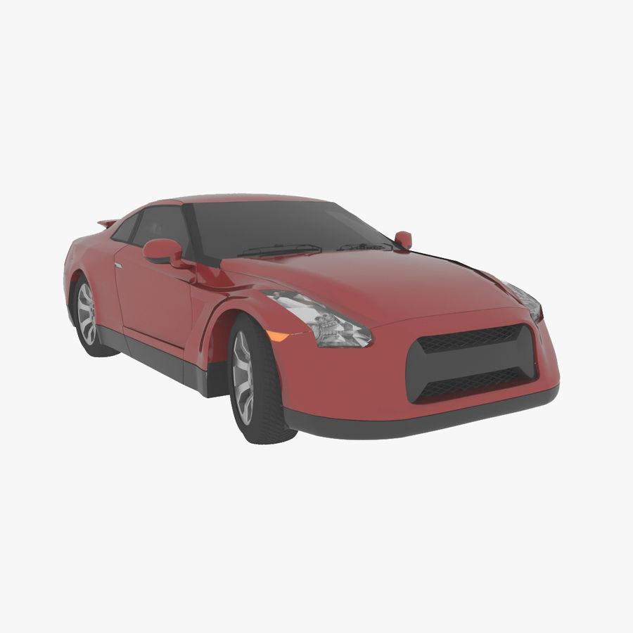 概念车 royalty-free 3d model - Preview no. 1