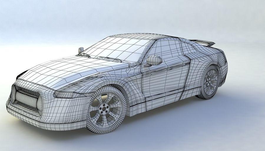 概念车 royalty-free 3d model - Preview no. 16