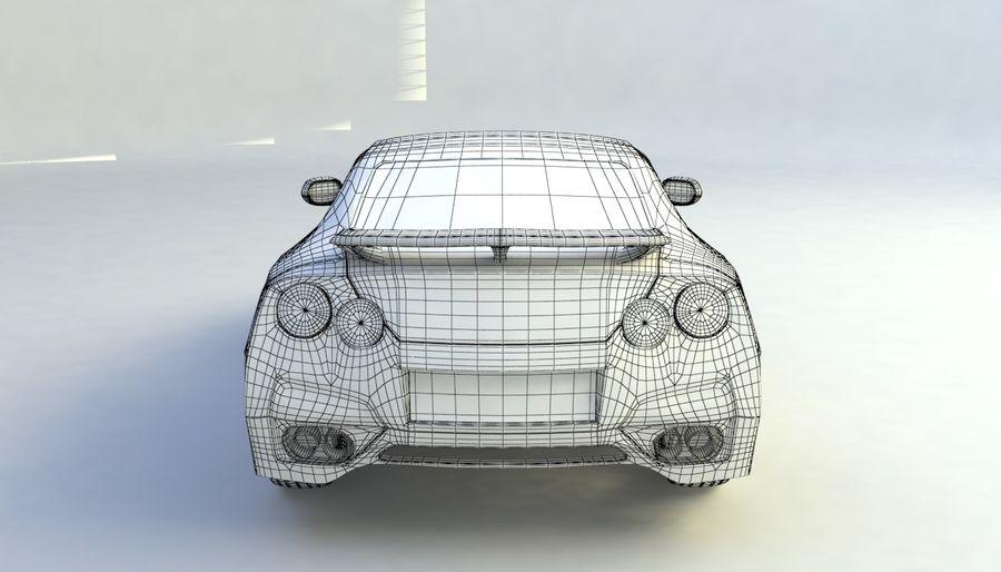 概念车 royalty-free 3d model - Preview no. 11