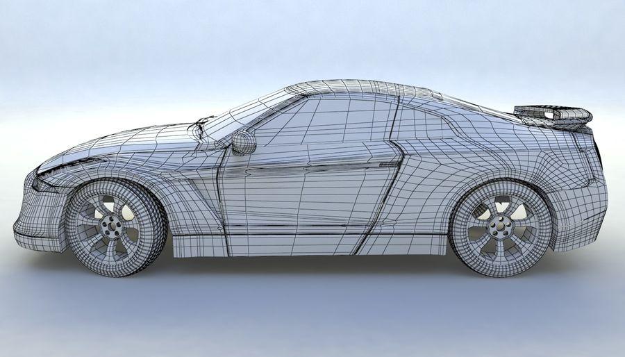 概念车 royalty-free 3d model - Preview no. 9