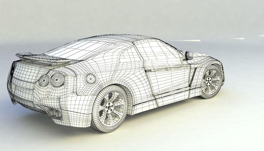 概念车 royalty-free 3d model - Preview no. 12