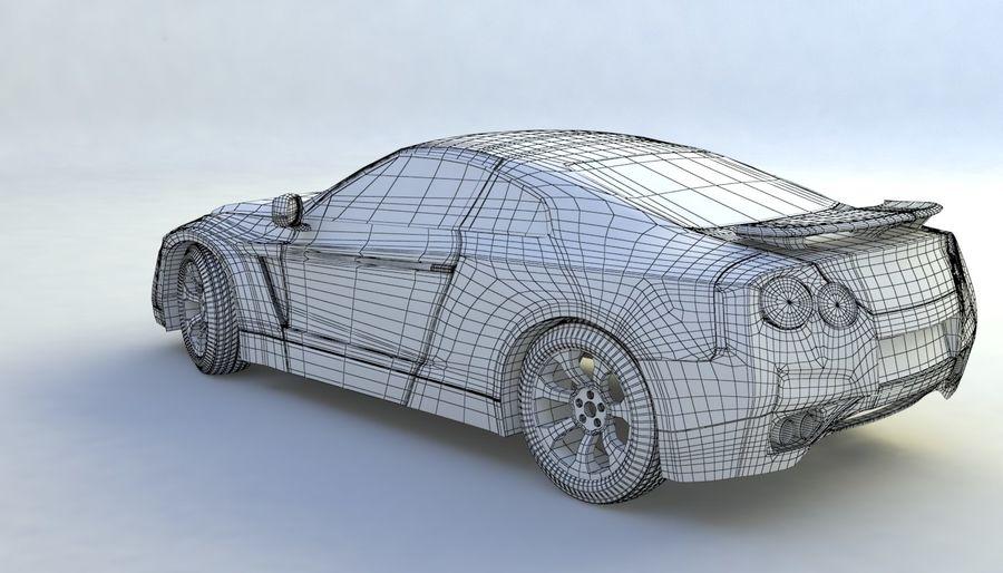 概念车 royalty-free 3d model - Preview no. 10