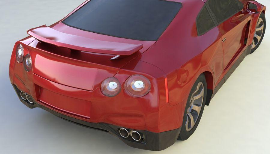 概念车 royalty-free 3d model - Preview no. 7