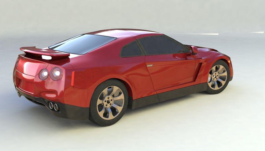 概念车 royalty-free 3d model - Preview no. 3