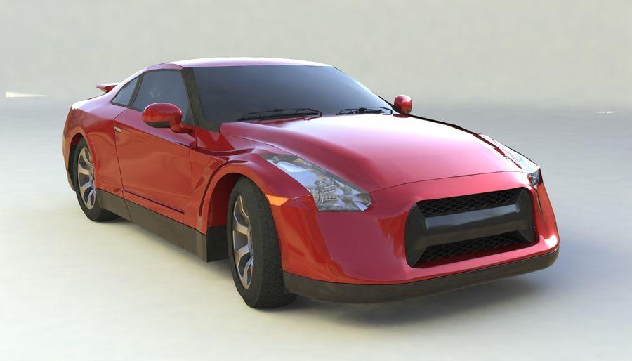 概念车 royalty-free 3d model - Preview no. 2