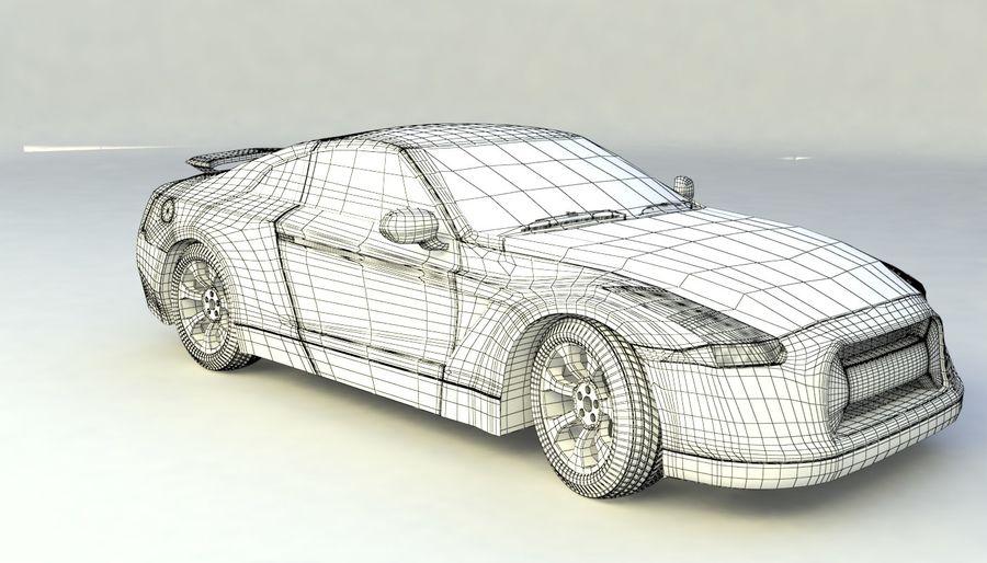 概念车 royalty-free 3d model - Preview no. 14
