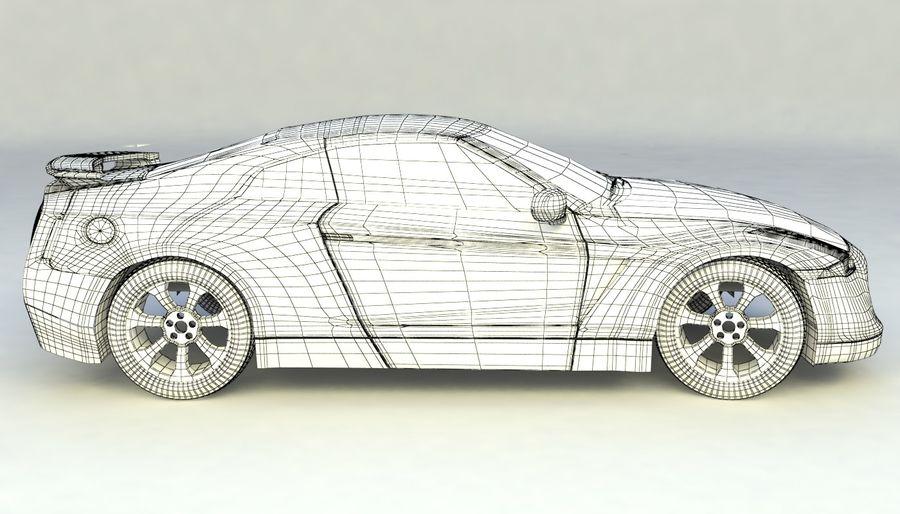 概念车 royalty-free 3d model - Preview no. 13