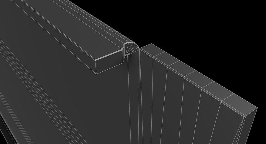 19-дюймовая панель для монтажа в стойку 3U royalty-free 3d model - Preview no. 15