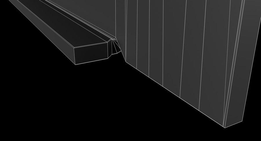 19-дюймовая панель для монтажа в стойку 3U royalty-free 3d model - Preview no. 16