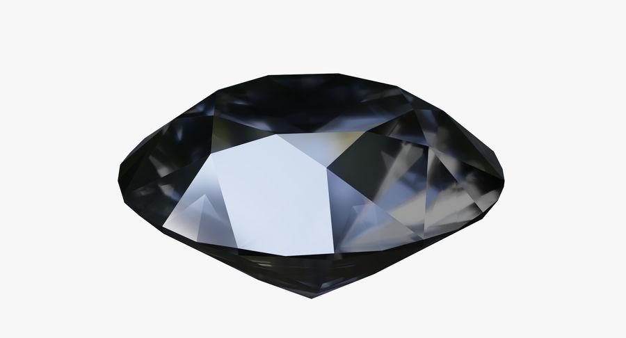 黑钻石 royalty-free 3d model - Preview no. 3