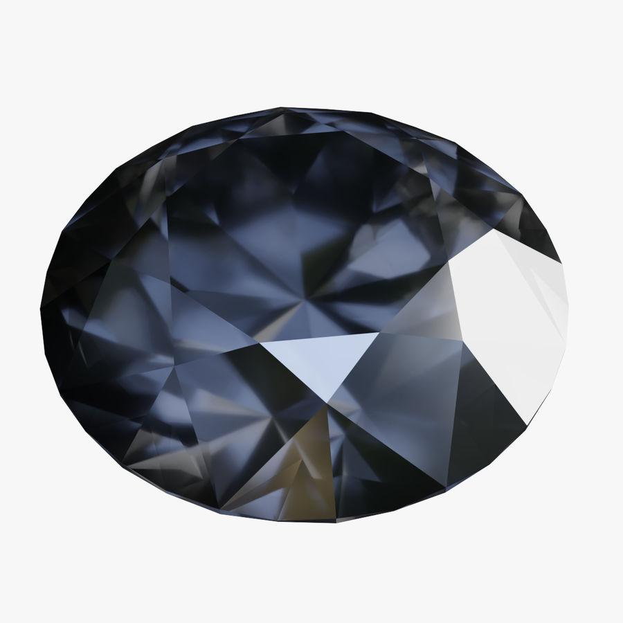 黑钻石 royalty-free 3d model - Preview no. 1
