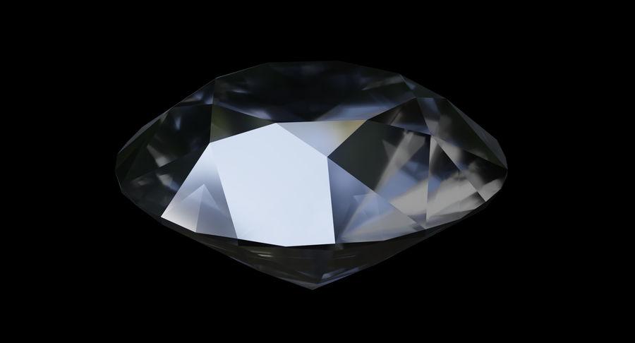 黑钻石 royalty-free 3d model - Preview no. 6