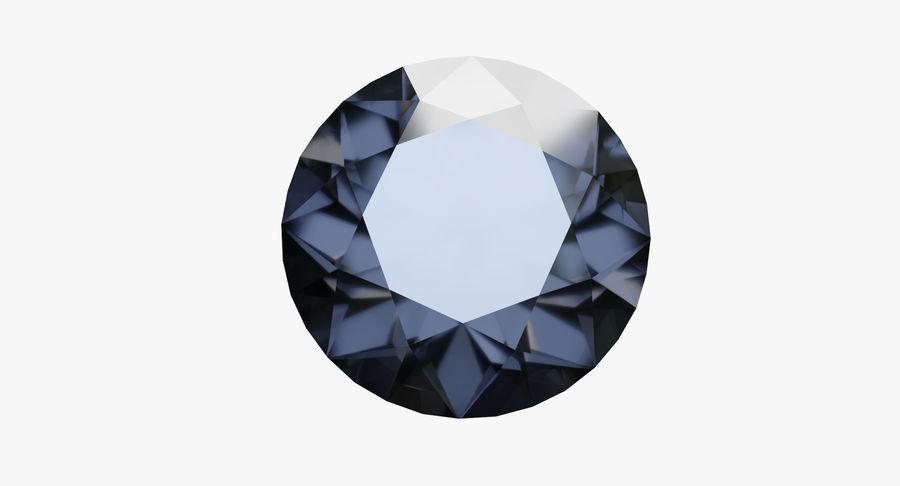 黑钻石 royalty-free 3d model - Preview no. 4