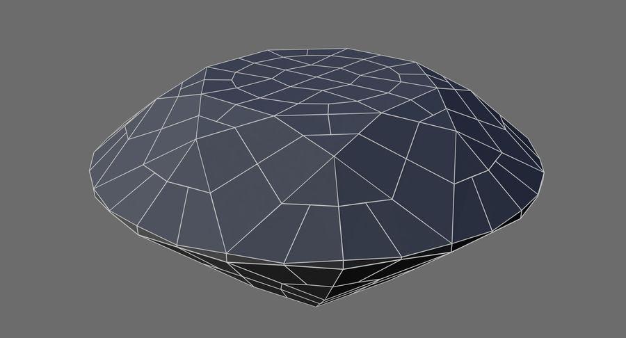 黑钻石 royalty-free 3d model - Preview no. 8