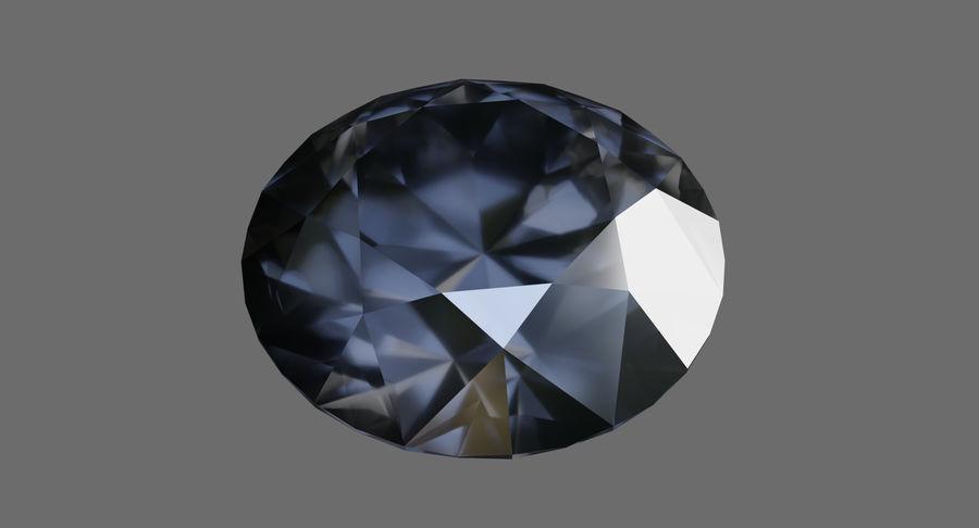 黑钻石 royalty-free 3d model - Preview no. 7