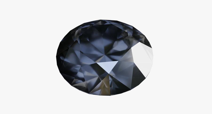 黑钻石 royalty-free 3d model - Preview no. 2