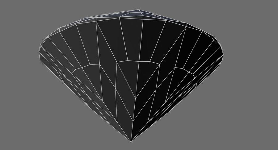 黑钻石 royalty-free 3d model - Preview no. 9