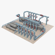 Tuyaux industriels_1 3d model