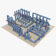 Industriella rör_3 3d model