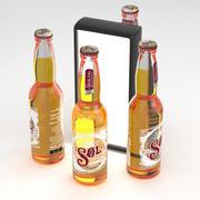 Botella De Cerveza Sol Cerveza 330ml modelo 3d