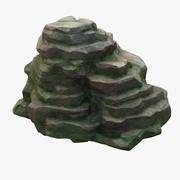 Bemoste klif 3d model