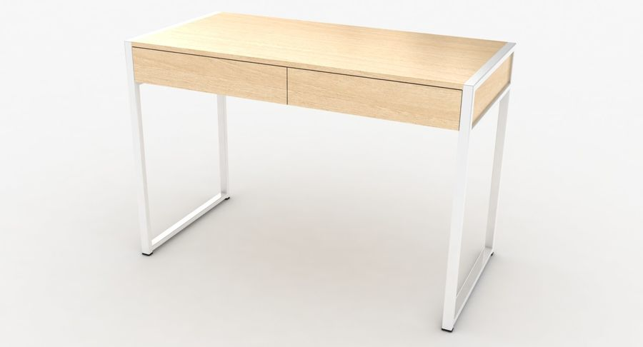 Drawer Desk royalty-free 3d model - Preview no. 9