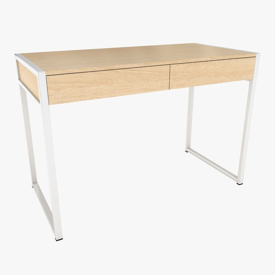 Drawer Desk royalty-free 3d model - Preview no. 1