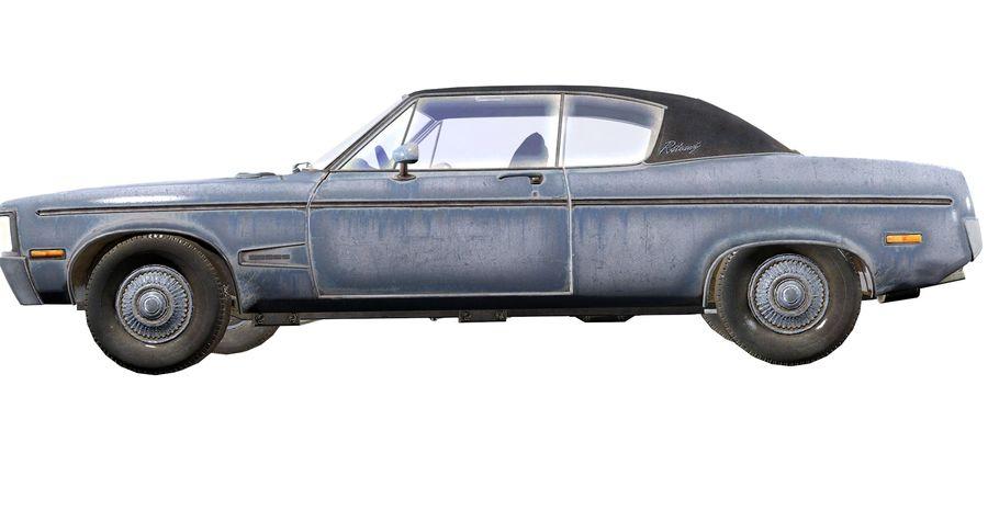 Универсальный автомобиль-купе royalty-free 3d model - Preview no. 9