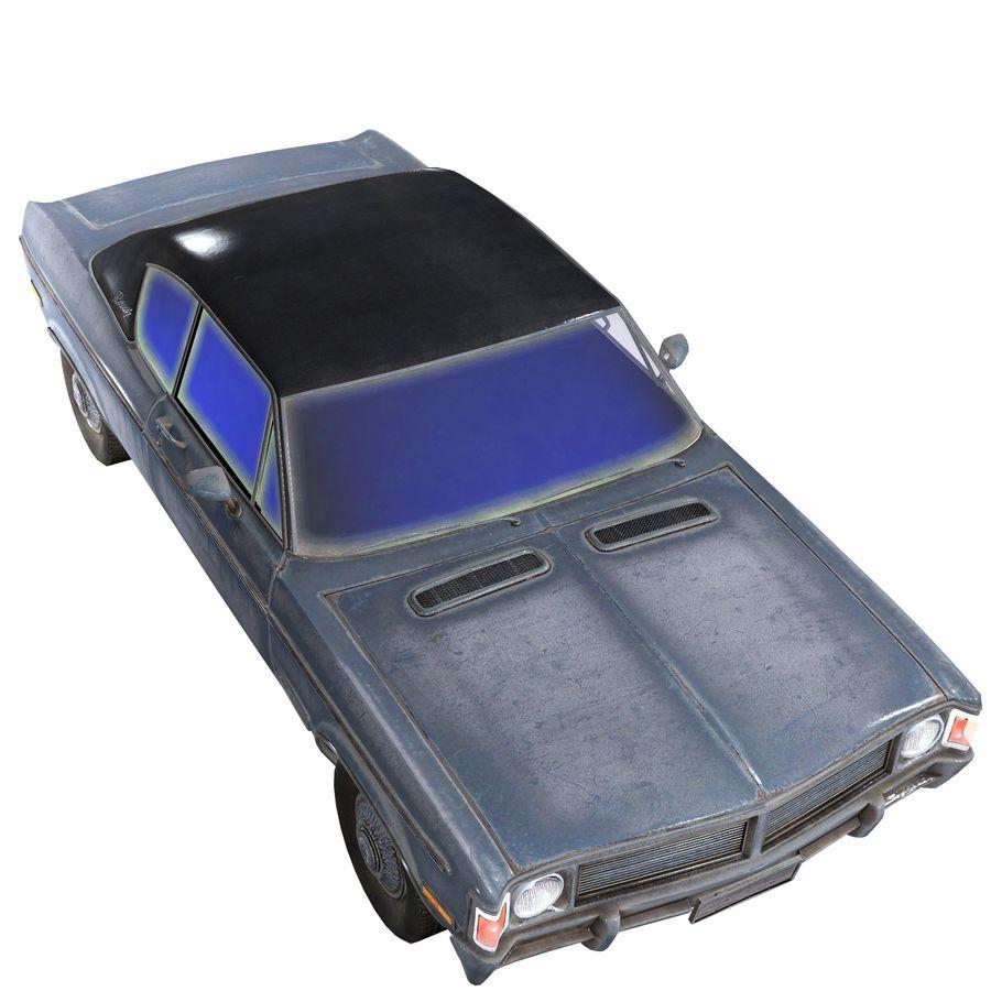 Универсальный автомобиль-купе royalty-free 3d model - Preview no. 7