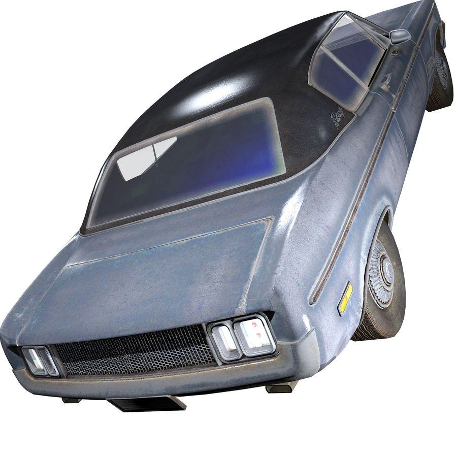Универсальный автомобиль-купе royalty-free 3d model - Preview no. 4