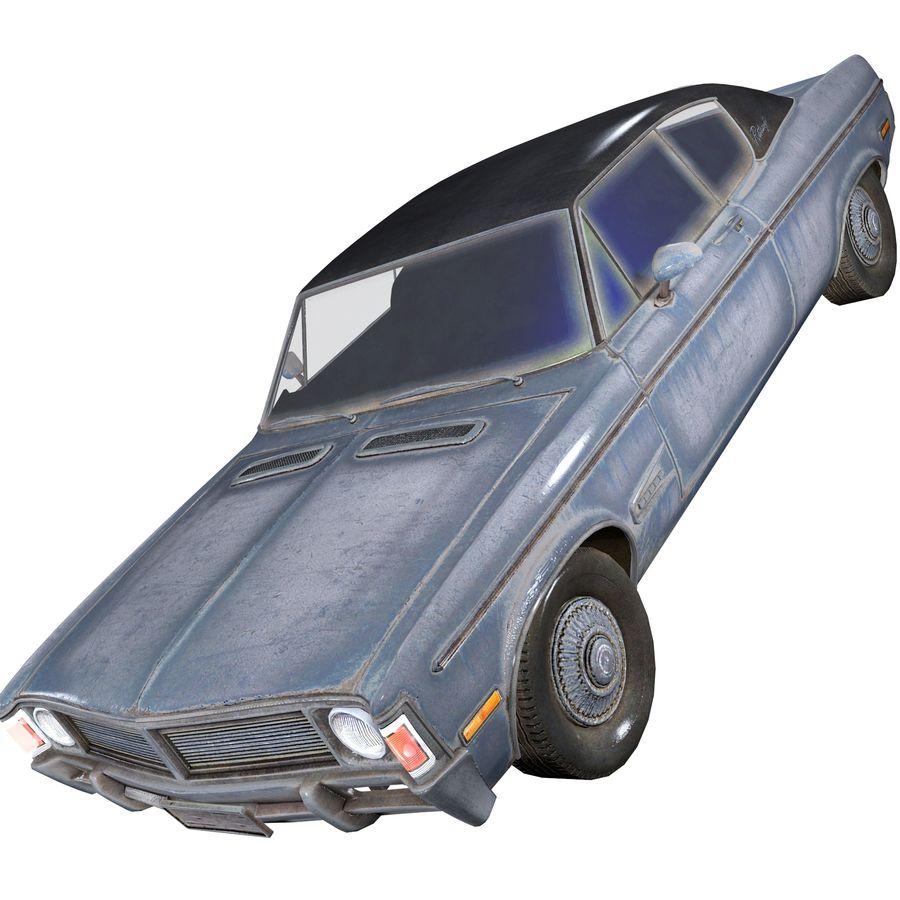 Универсальный автомобиль-купе royalty-free 3d model - Preview no. 3